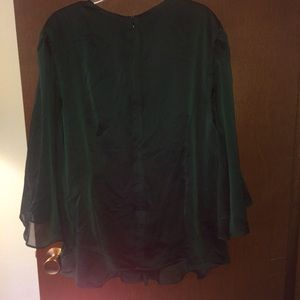 Dress Barn Tops - Plus Size Forest Green Blouse